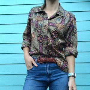 Vintage silky blouse